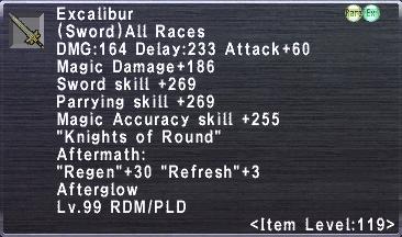 Excalibur (119-3)