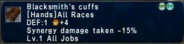 Blacksmith's Cuffs