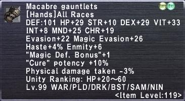 Macabre Gauntlets