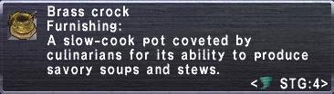 Brass Crock
