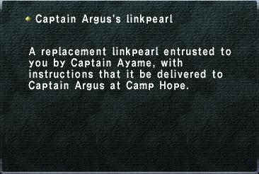 Captain Argus's linkpearl