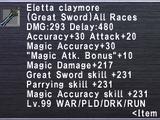 Eletta Claymore
