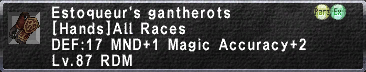 Estoqueur's Gantherots