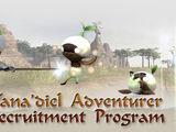 Vana'diel Adventurer Recruitment Program