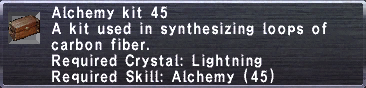 Alchemy Kit 45