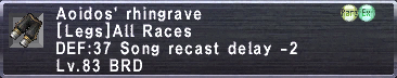Aoidos' Rhingrave