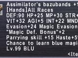 Assimilator's Bazubands +1