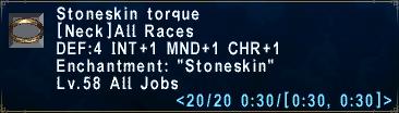 Stoneskin Torque