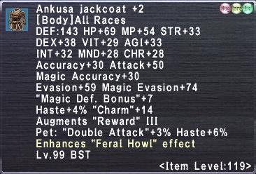 Ankusa Jackcoat +2