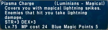 Plasma Charge