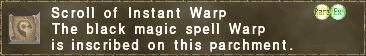 Instant Warp