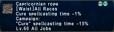 Capricornian Rope