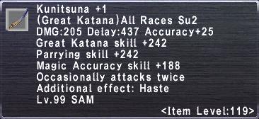 Kunitsuna +1