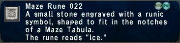 Maze Rune 022