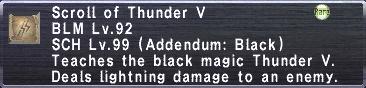 Thunder V