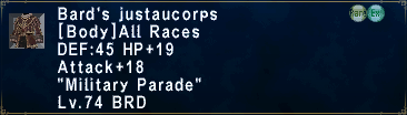 Bard's Justaucorps