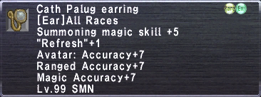 Cath Palug Earring