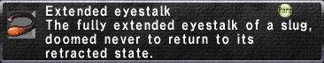Extended Eyestalk