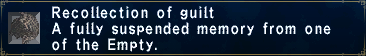 Recollection of Guilt