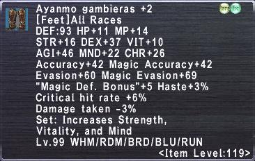 Ayanmo Gambieras +2