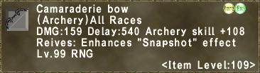 Camaraderie Bow
