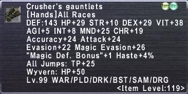 Crusher Gauntlets