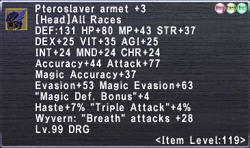 Pteroslaver Armet +3