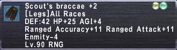 Scout's Braccae +2