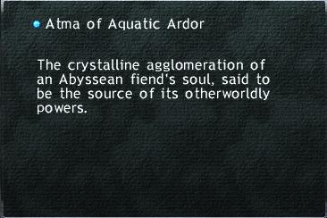 Atma of Aquatic Ardor