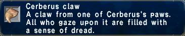 Cerberus Claw