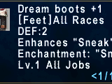 Dream Boots +1