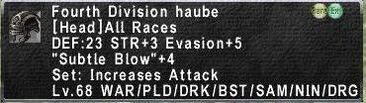 Fourth Haube