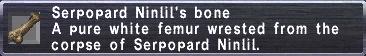 Ninlil's Bone