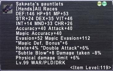 Sakpata's Gauntlets