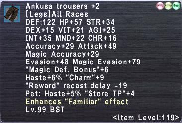 Ankusa Trousers +2