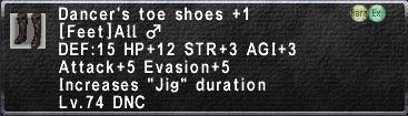 Dancer's Shoes +1