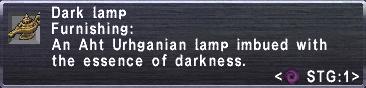 Dark Lamp