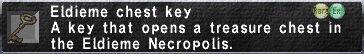 Eldieme Chest Key