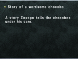 Story of a Worrisome Chocobo