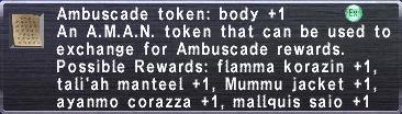 Ambuscade Token: Body +1