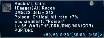 Anubis's Knife
