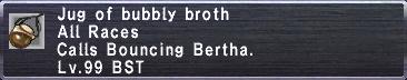 Bubbly Broth