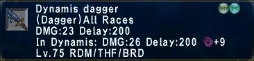 Dynamis Dagger