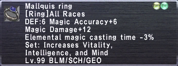 Mallquis Ring