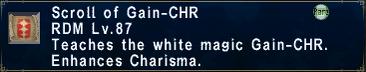 Gain-CHR