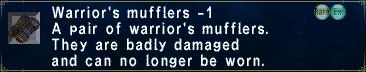 Warriors Mufflers -1