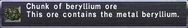 Chunk of Beryllium ore