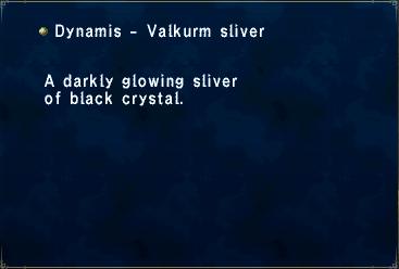 Dynamis - Valkurm Sliver