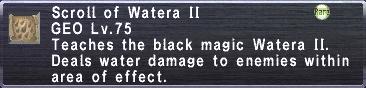 Scroll of Watera II