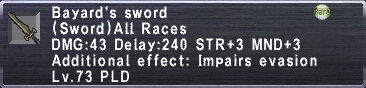Bayard's Sword